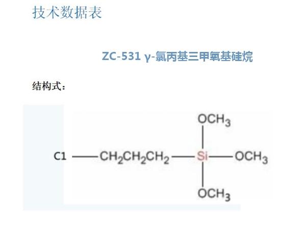 ZC-531 γ-氯丙基三甲氧基硅烷